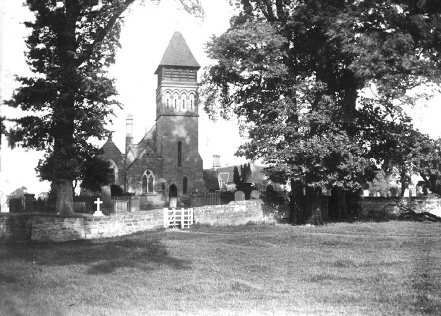 Old Milverton Parish Church.  1920s |  IMAGE LOCATION: (Warwickshire County Record Office)