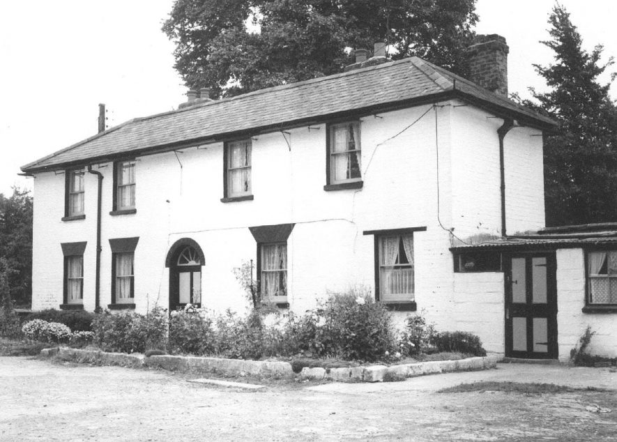 Gas works.  Manager's house.  Photo: R. Smith.  County Planning Office.  1965    IMAGE LOCATION: (Warwickshire County Record Office)