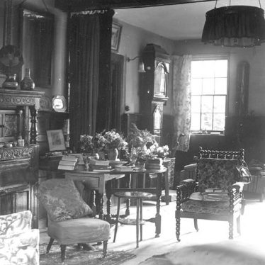Alveston.  Interior of Alveston Manor