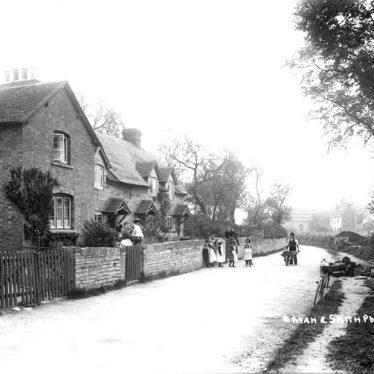 Binton.  Village scene