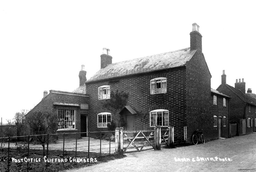 Clifford Chambers Post Office.  1910s |  IMAGE LOCATION: (Warwickshire County Record Office)