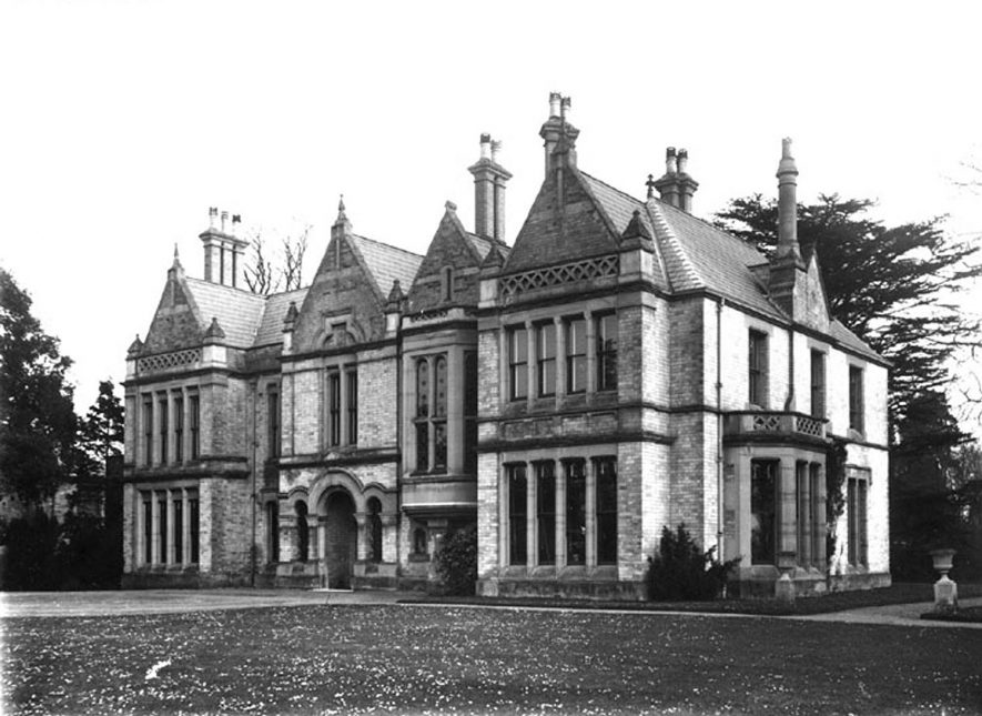 Ettington House.  1900s    IMAGE LOCATION: (Warwickshire County Record Office)