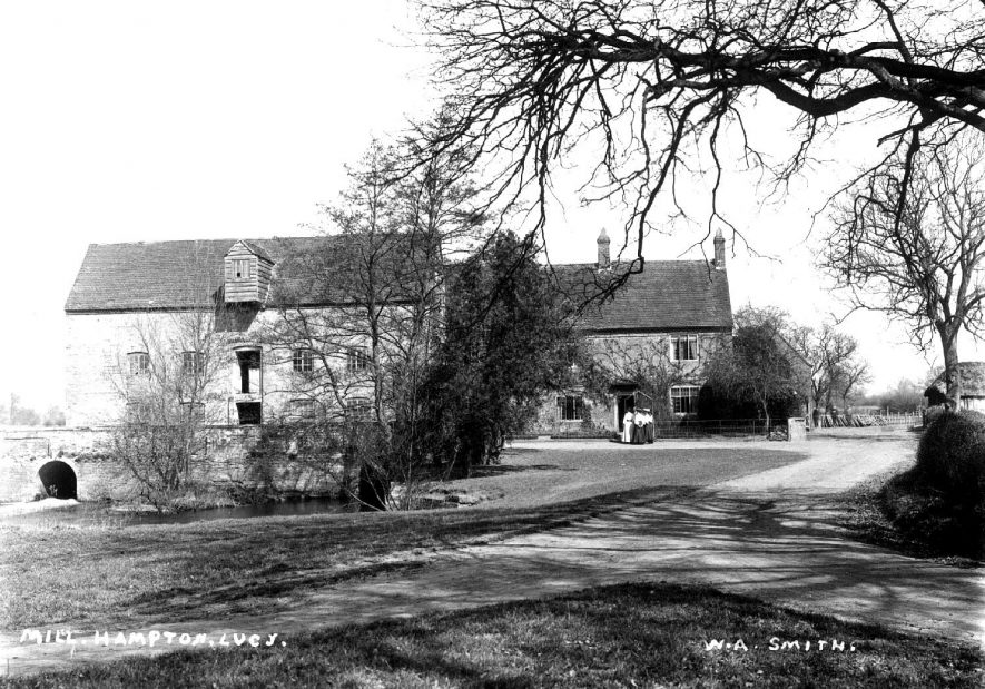 Charlecote water mill, Hampton Lucy.  1900s |  IMAGE LOCATION: (Warwickshire County Record Office)