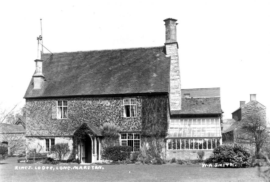 The Kings Lodge, Long Marston.  1900s |  IMAGE LOCATION: (Warwickshire County Record Office)