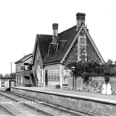 Long Marston.  Railway Station
