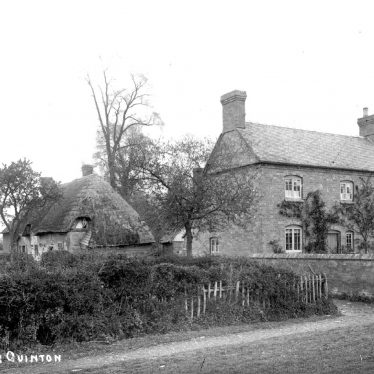 Quinton, Upper.  Winton House and cottage