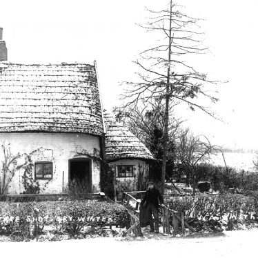 Shottery.  Old cottage
