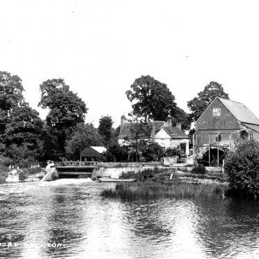 Welford on Avon.  Mill