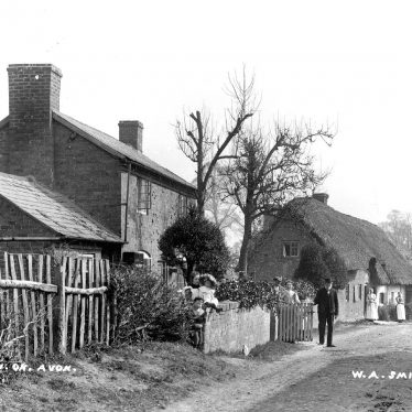 Weston on Avon.  Cottages