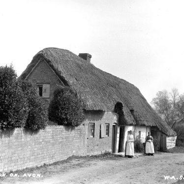 Weston on Avon.  Cottages