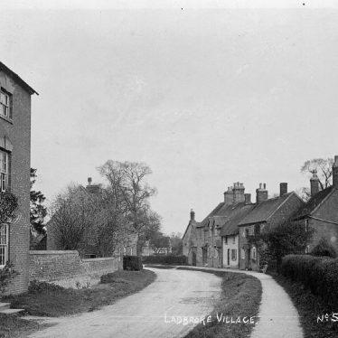 Ladbroke.  Village street