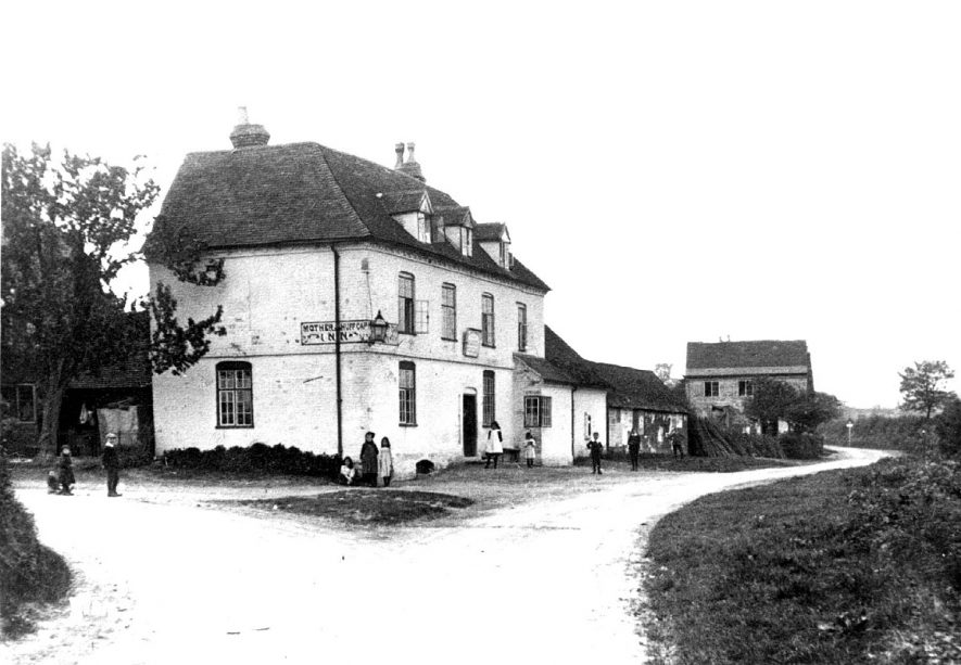 The Mother Huff Cap Inn at Great Alne.  1900s. |  IMAGE LOCATION: (Warwickshire County Record Office)
