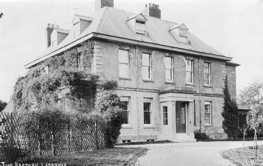 The Rectory, Ladbroke.  1900s |  IMAGE LOCATION: (Warwickshire County Record Office)