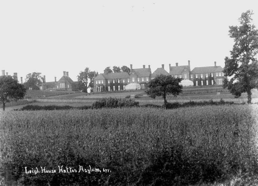 Leigh House Lunatic Asylum, Hatton.  1910s |  IMAGE LOCATION: (Warwickshire County Record Office)