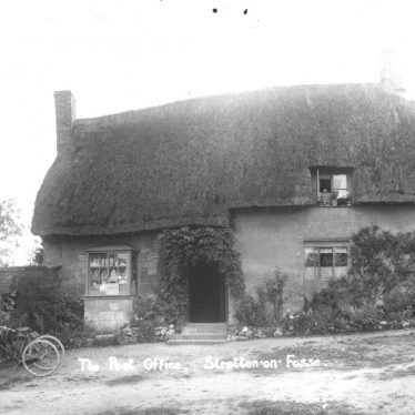 Stretton on Fosse.  Post Office