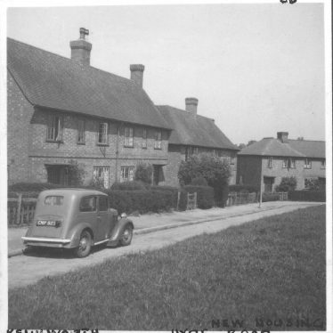 Kenilworth.  Hyde Road, new housing