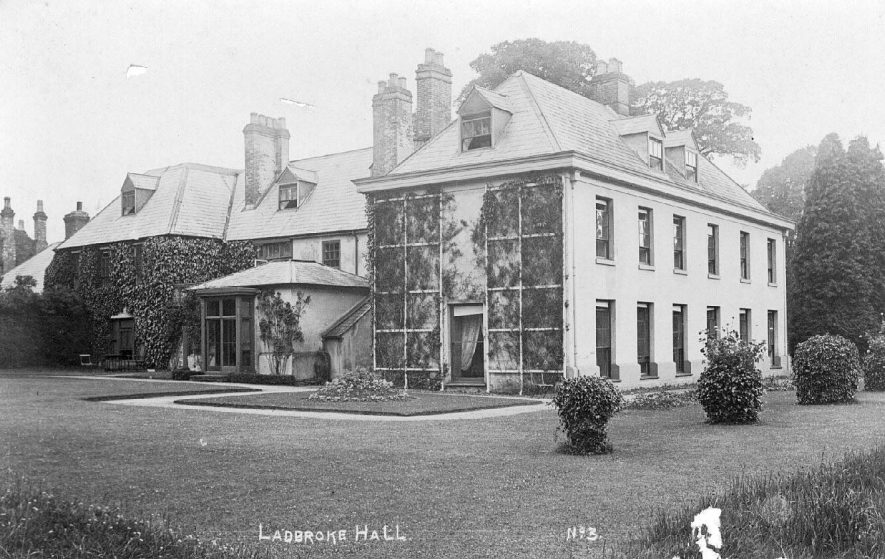 Ladbroke Hall.  1900s |  IMAGE LOCATION: (Warwickshire County Record Office)