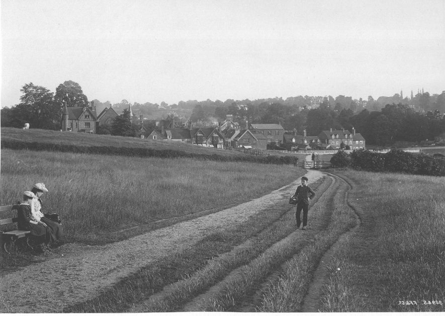Abbey Fields, Kenilworth.  1892