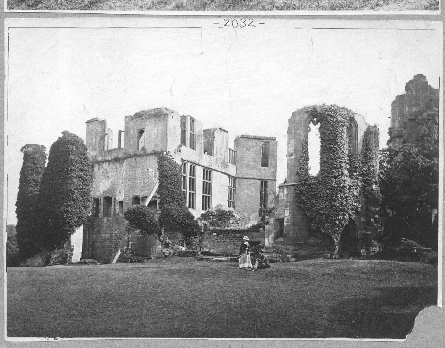 Kenilworth Castle.  1850 |  IMAGE LOCATION: (Warwickshire County Record Office)