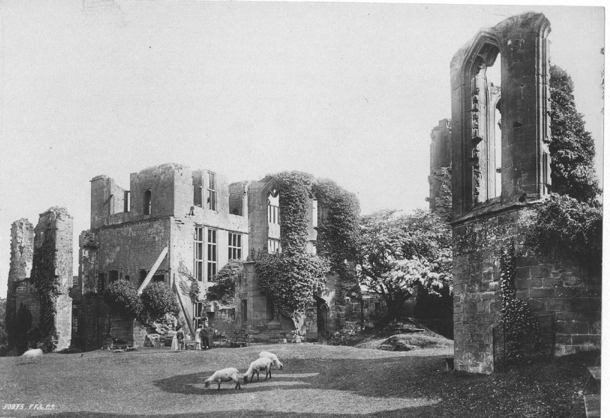 Kenilworth Castle.  1892 |  IMAGE LOCATION: (Warwickshire County Record Office)