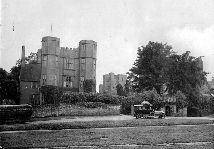 Kenilworth Castle Gatehouse.  1892 |  IMAGE LOCATION: (Warwickshire County Record Office)