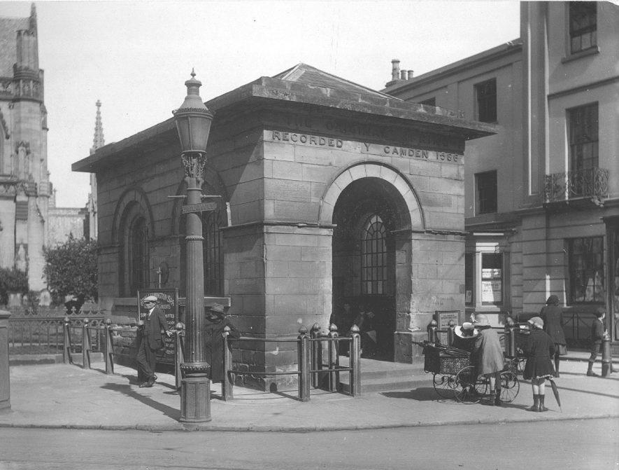The original spring, Leamington Spa.  1922 |  IMAGE LOCATION: (Warwickshire County Record Office)