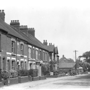 Hartshill.  Church Road