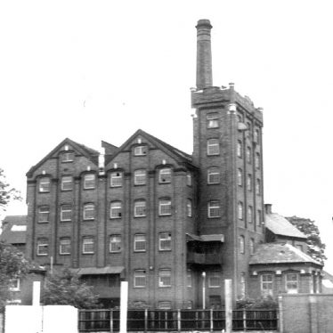 Nuneaton.  Flour Mill
