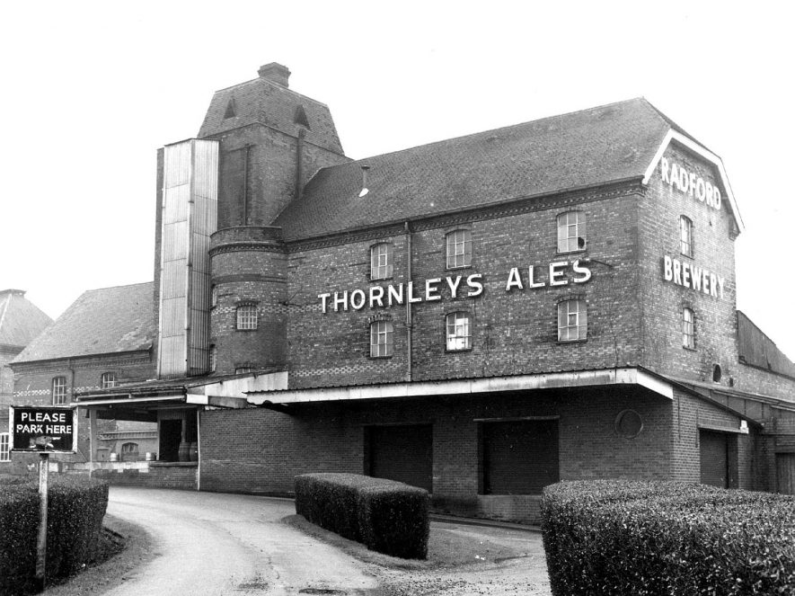 Thornley's brewery, Radford Semele.  1920s |  IMAGE LOCATION: (Warwickshire County Record Office)