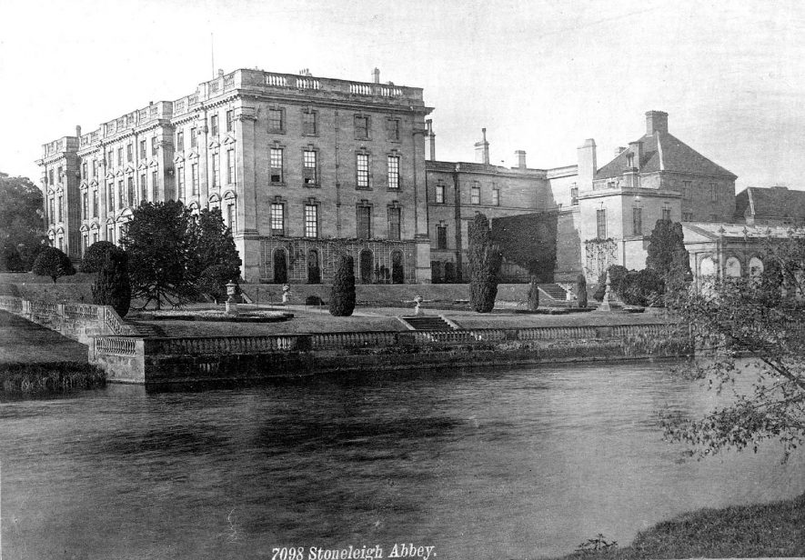 Stoneleigh Abbey.  1920s    IMAGE LOCATION: (Warwickshire County Record Office)