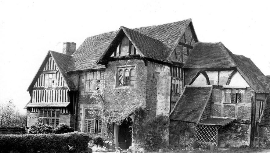 Gorcott Hall, Studley.  1938 |  IMAGE LOCATION: (Warwickshire County Record Office)