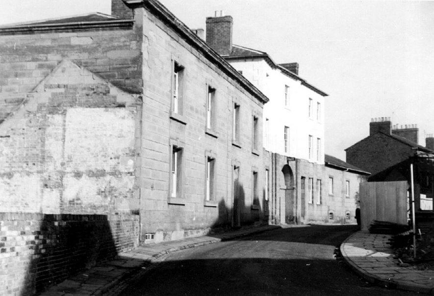Barrack Street Police Station, Warwick.  1962    IMAGE LOCATION: (Warwickshire County Record Office)