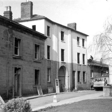 Warwick.  Barrack Street, police station, demolition