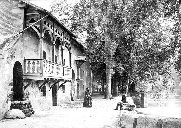 Guy's Cliffe Mill, Warwick.  1890s |  IMAGE LOCATION: (Warwickshire County Record Office)