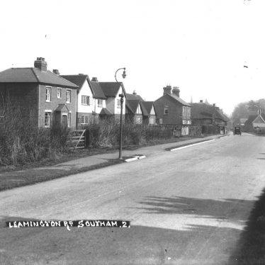 Southam.  Leamington Road