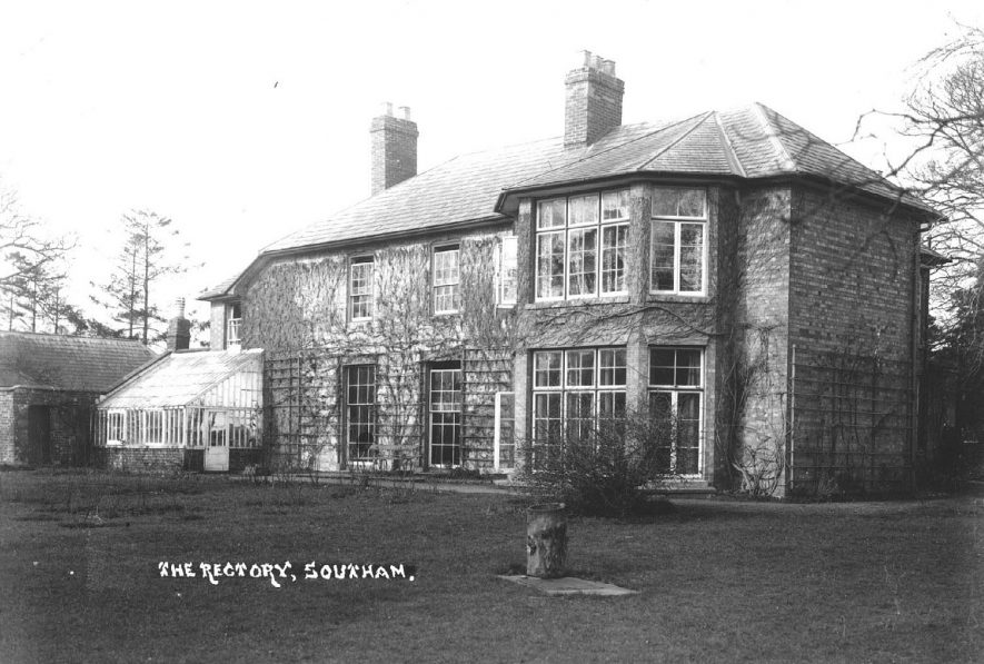 The Rectory, Southam.  1920s |  IMAGE LOCATION: (Warwickshire County Record Office)