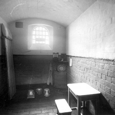 Warwick.  Cape Road, Warwick Prison, prisoner's cell