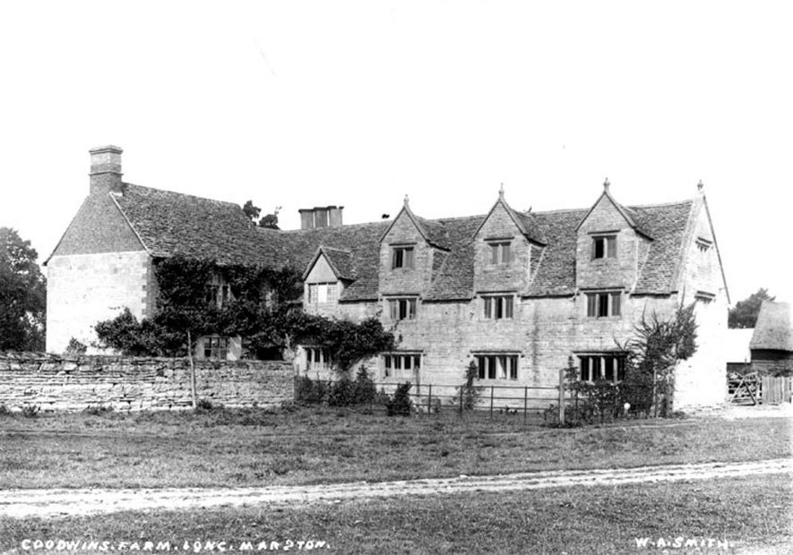 Goodwin's Farm, Long Marston.  1900s |  IMAGE LOCATION: (Warwickshire County Record Office)
