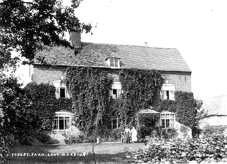 Forest Farm, Long Marston.  1900s |  IMAGE LOCATION: (Warwickshire County Record Office)