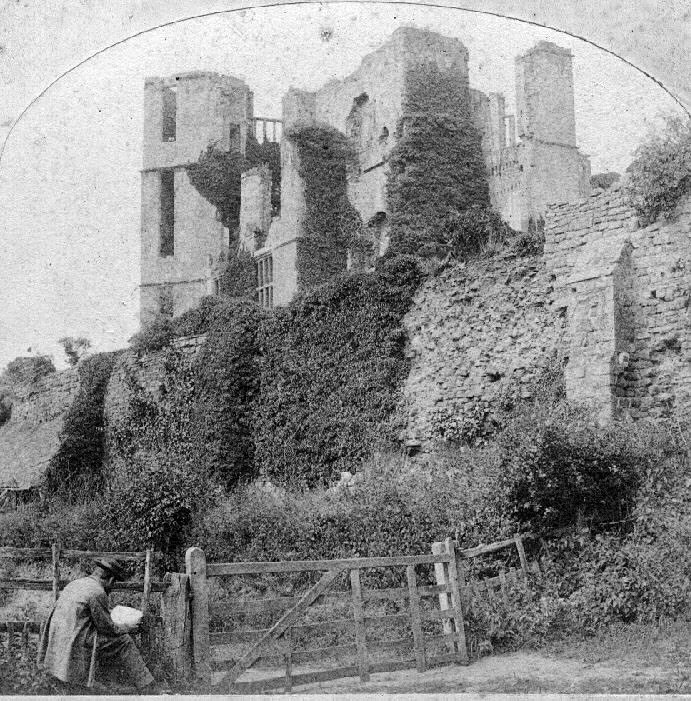Kenilworth Castle.  1860s |  IMAGE LOCATION: (Warwickshire County Record Office)