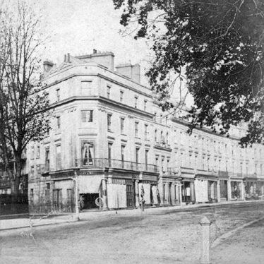 Leamington Spa.  Lower Parade and Dormer Place