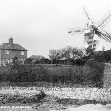 Nuneaton.  Tuttle Hill Windmill