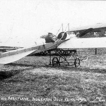Nuneaton.  Aeroplane