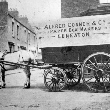 Nuneaton.  Alfred Conner & Co. paper box makers