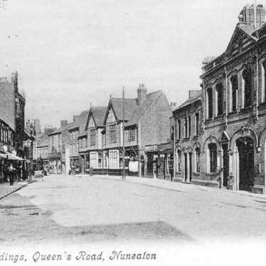 Nuneaton.  Council buildings in Queens Road