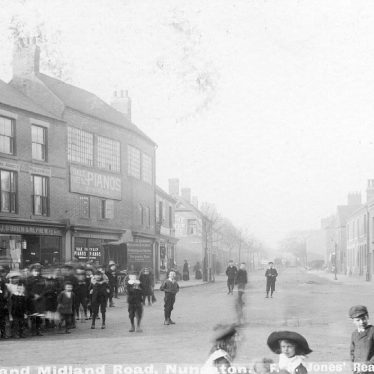 Nuneaton.  Abbey Green and Midland Road