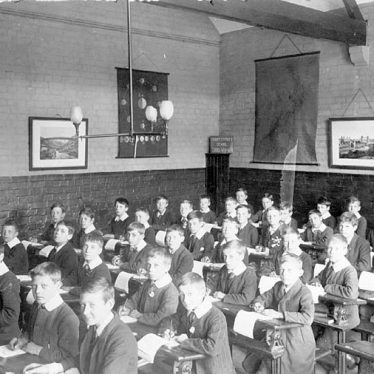 Nuneaton.  Abbey Street School