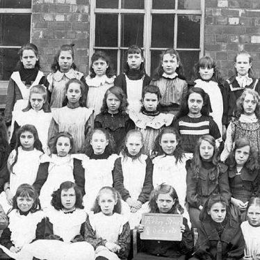 Nuneaton.  Abbey Street School girls