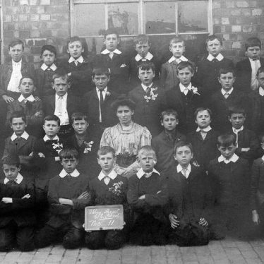 Nuneaton.  Abbey Street School boys