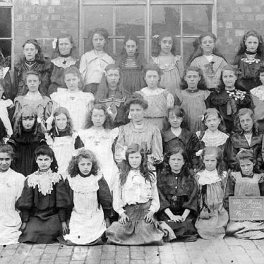Nuneaton.  Abbey Street School girls
